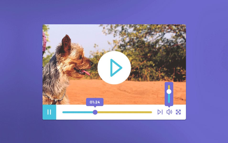 Video Player Free PSD