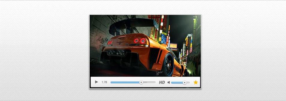 Video Player PSD