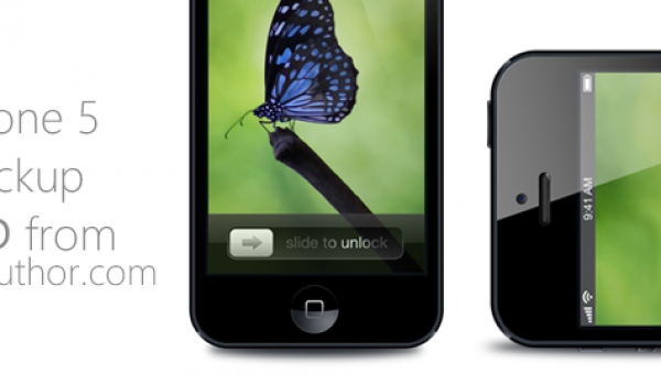 iPhone 5 Mockup PSD for Free Download - cssauthor.com