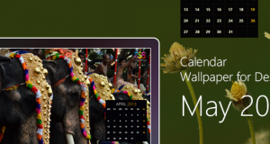 Calendar Wallpaper for Desktop : May 2013 – Freebie No: 93