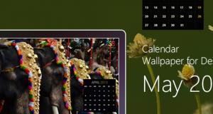 Calendar Wallpaper for Desktop : May 2013 – Freebie No: 93
