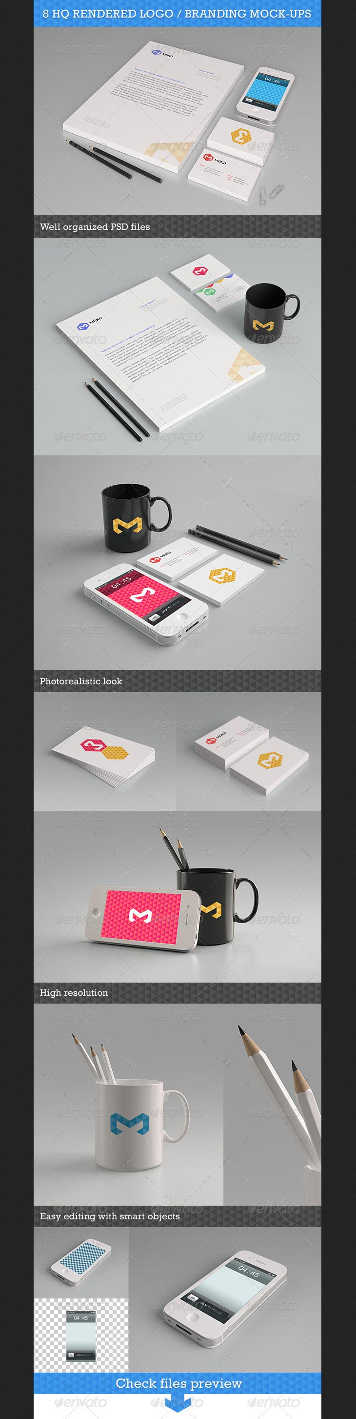 Logo / Branding Mock-Up Pack
