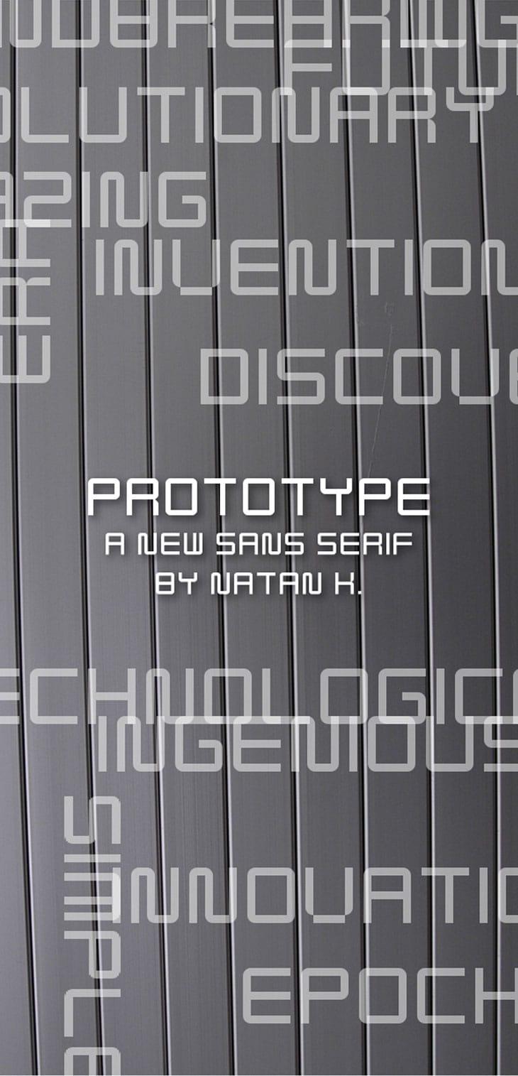 Prototype-Free-Font