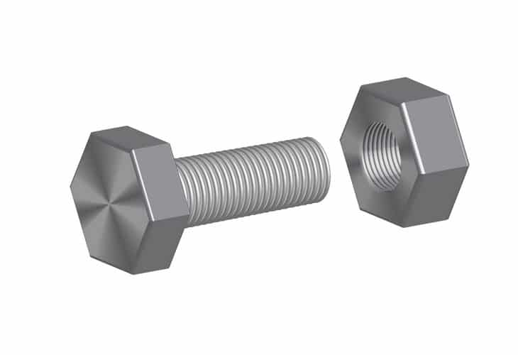 Screw-bolt-and-a-Nut