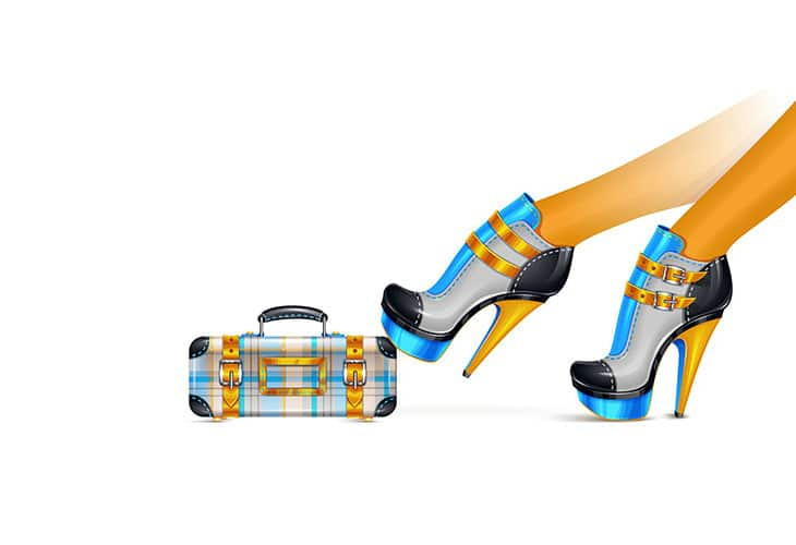 Shoes-and-Clutch