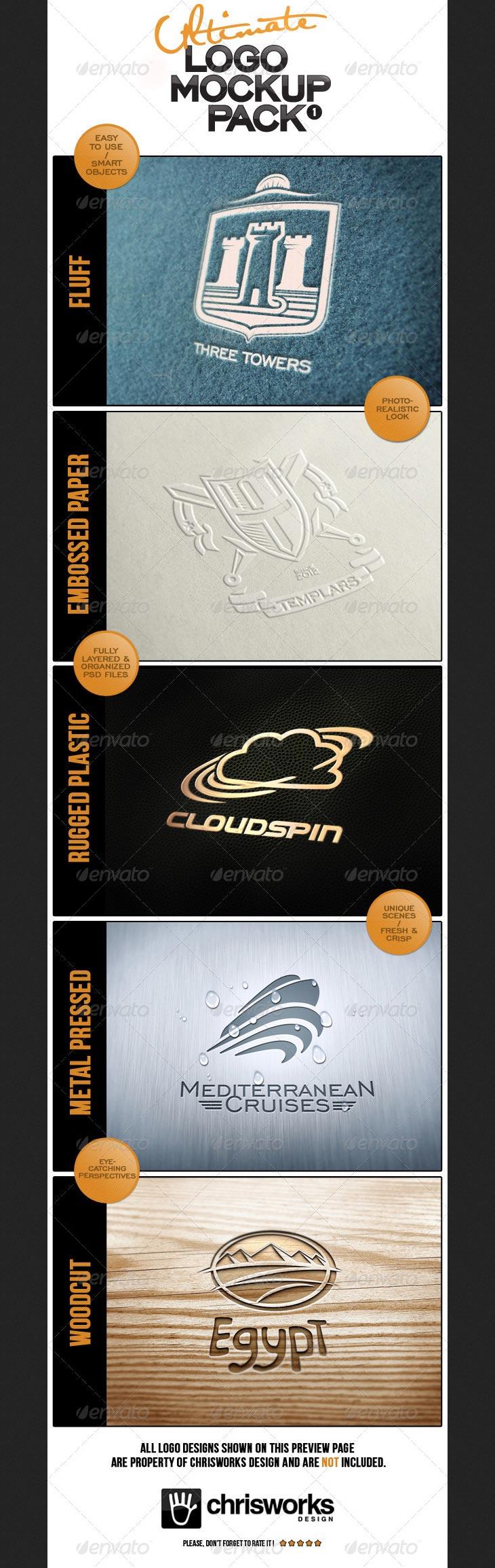 Ultimate Logo Mock-Up Pack