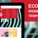 Zebra - Ecommerce Website Template PSD for Free Download - cssauthor.com