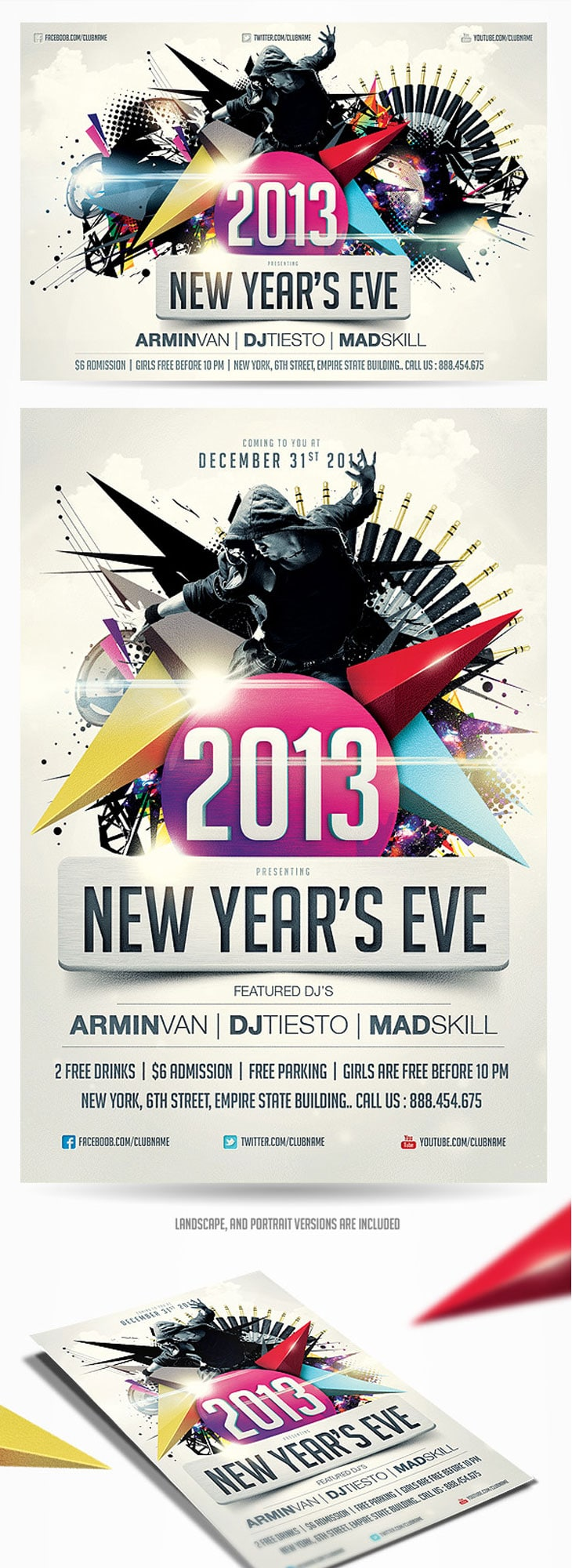best examples of inspirational flyer designs 2013 new years eve party flyer vol 2