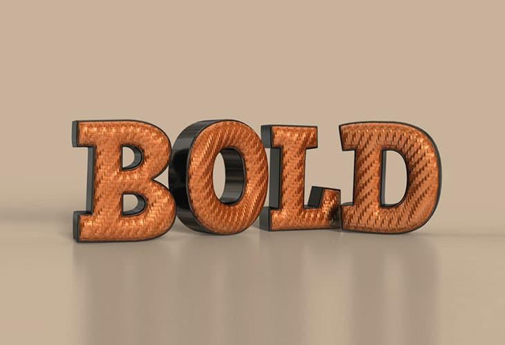 3D-Bold-Text-Effect