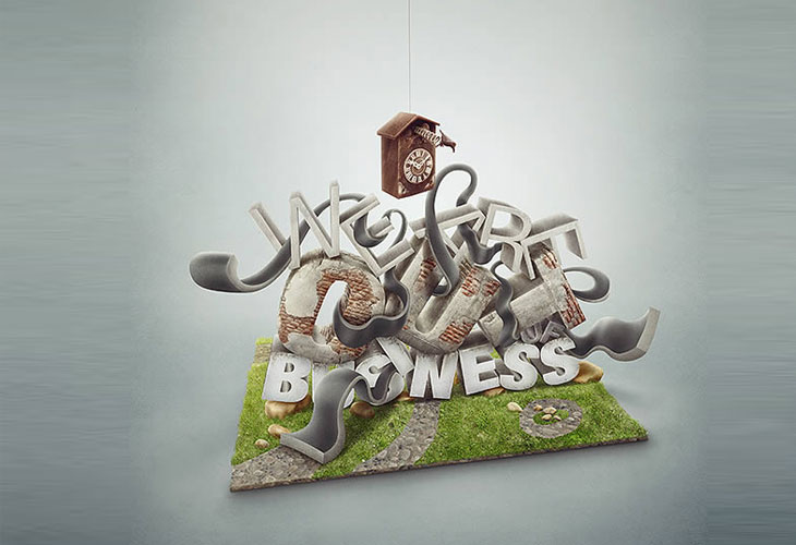 3D-Text-Effect-With-Photoshop-and-Maya