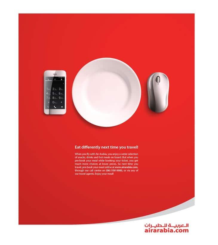 Air Arabia - Random print ads