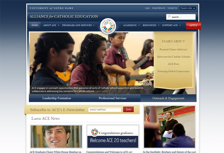 Alliance for Catholic Education -- University of Notre Dame