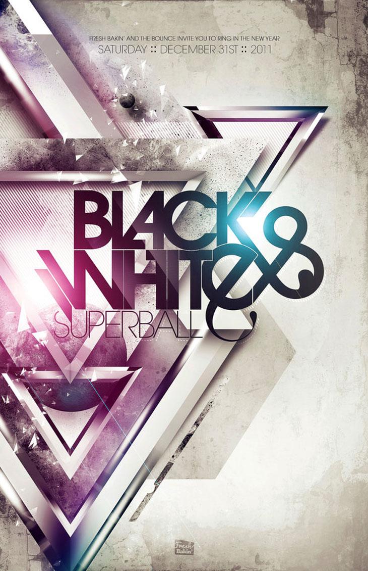 Black-and-White-Superball