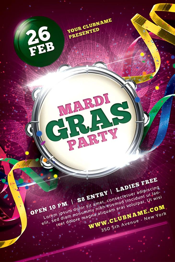 Carnaval-Mardi-Gras-2013-Flyer-Template