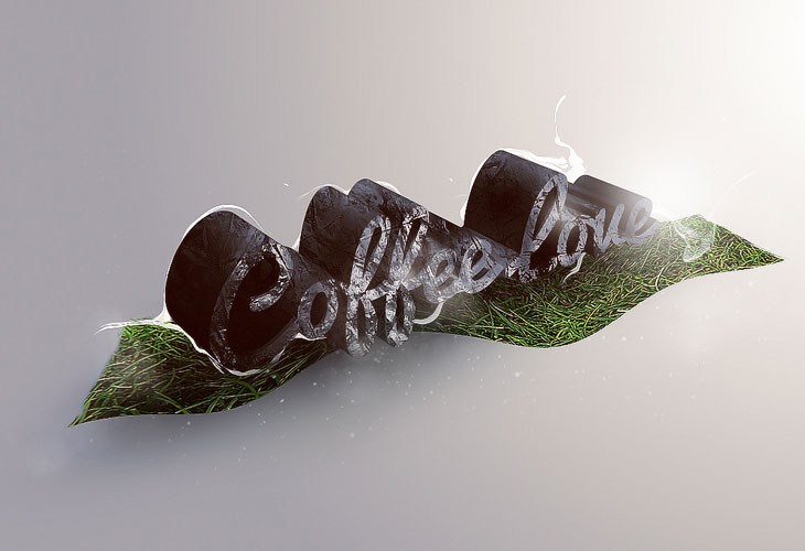 Create-Unique-3D-Grass-and-Stone-Text-Effect-in-Photoshop