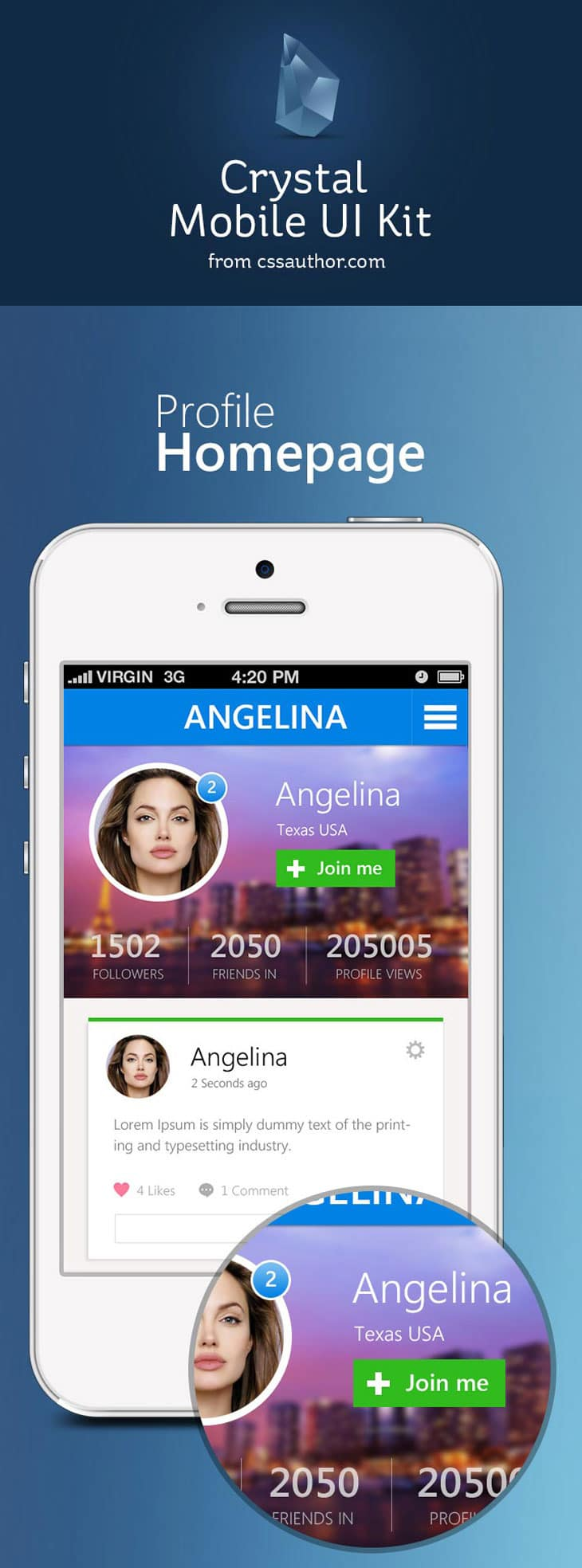 Crystal---Mobile-Application-UI