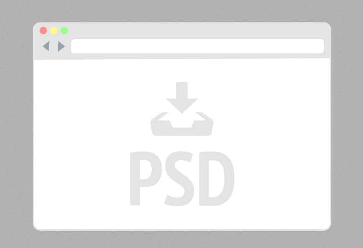 Flat-Mini-Browser-PSD