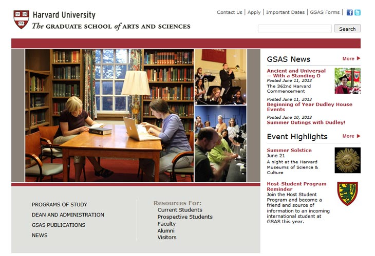 Harvard University - The Graduate School of Arts and Sciences
