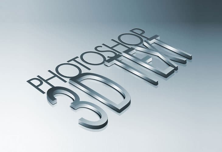 How-to-Create-High-Quality-Metal-3D-Text-in-Photoshop