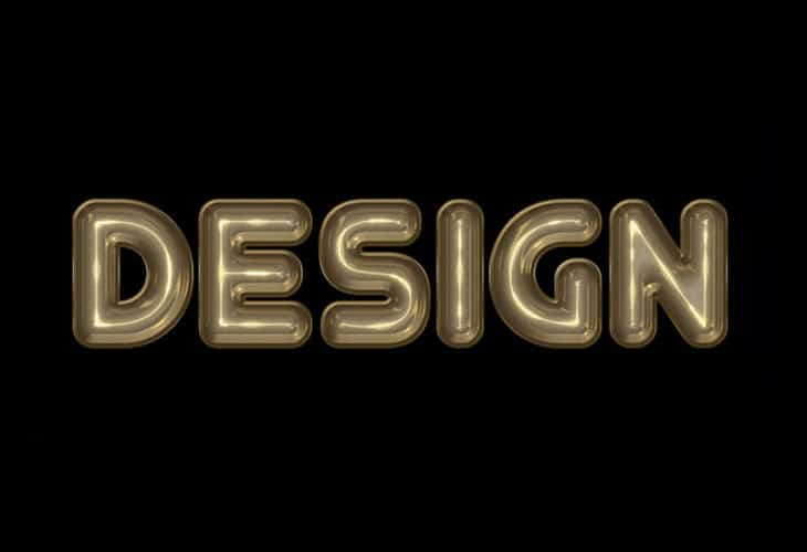 Making-a-Great-Silver-3D-Text-Effect