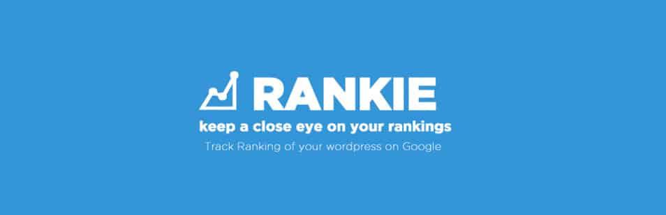 Rankie - WordPress Rank Tracker Plugin