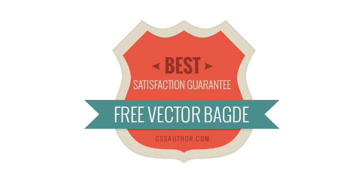 Satisfaction Guarantee Badge PSD - cssauthor.com