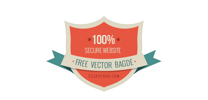 Security Badges PSD - cssauthor.com