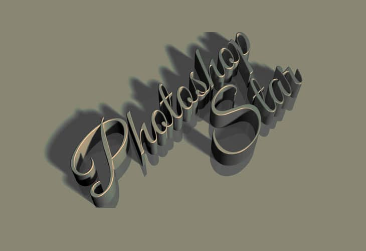 Vintage-3D-Text-Effect-in-Photoshop