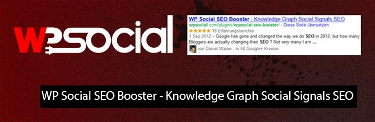 WP Social SEO Booster - Knowledge Graph Social Signals SEO