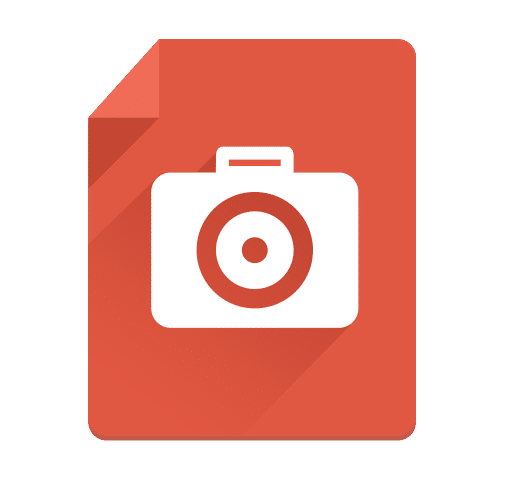 Camera Flat Long Shadow Icon - cssauthor.com