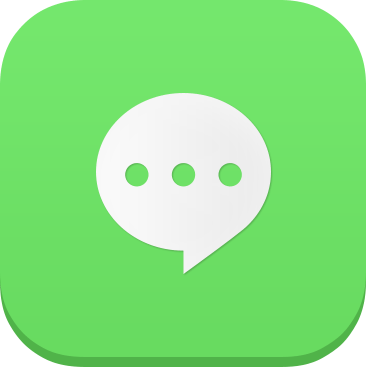 Chat iOS7 Icon - cssauthor.com
