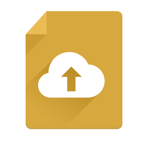 Cloud Flat Long Shadow Icon - cssauthor.com