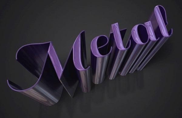 Create a Sleek Metallic 3D Text Effect in Photoshop