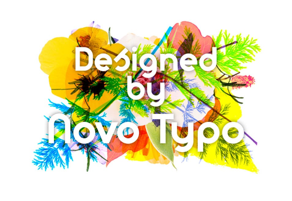 Designed by Novo Type