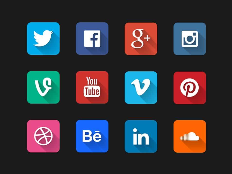Long-Shadow-Social-Icons