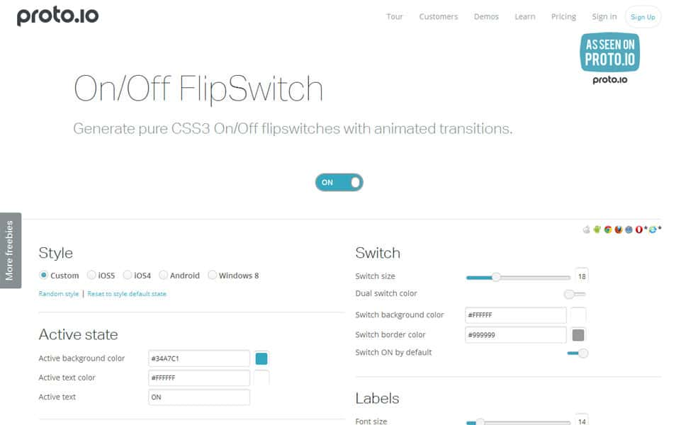 On/Off FlipSwitch