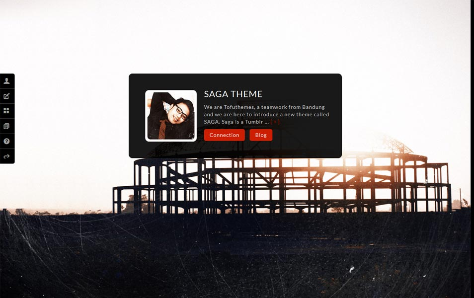 SAGA - Premium Tumblr Theme