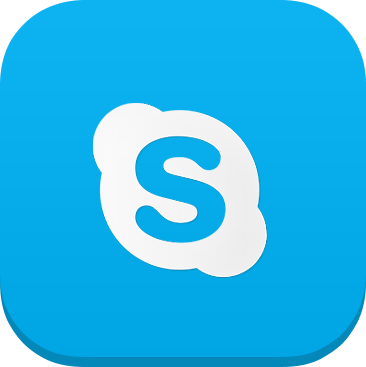 Skype iOS7 Icon - cssauthor.com