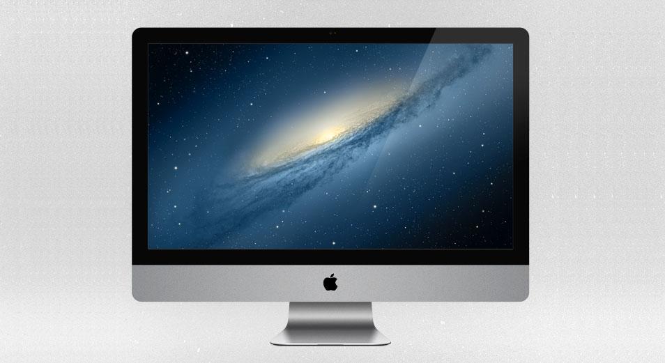 27in iMac – PSD