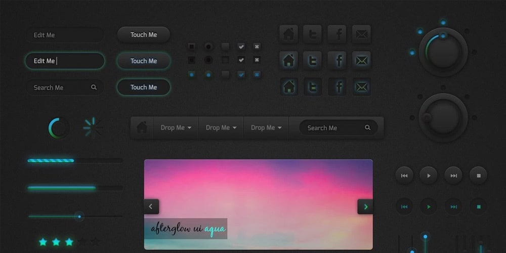 Afterglow UI Kit