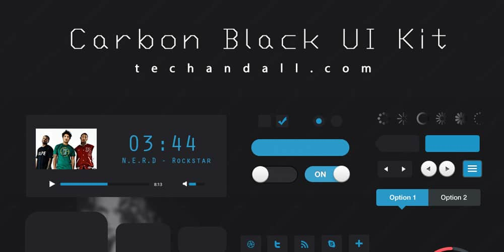 Carbon Black UI Kit