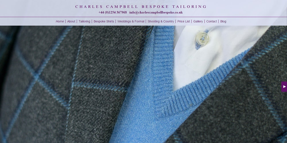 Charles Campbell Bespoke Tailoring