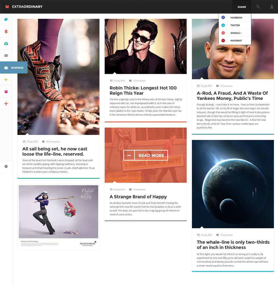 Extraordinary Magazine – 2 PSD Set
