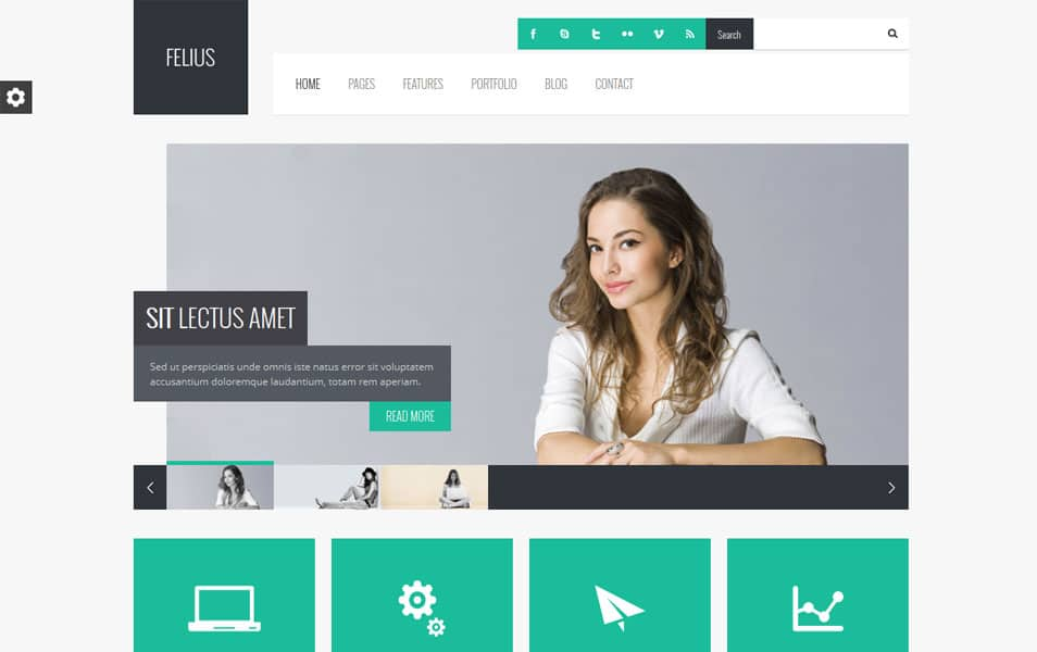 Felius - Responsive Multipurpose WordPress Theme