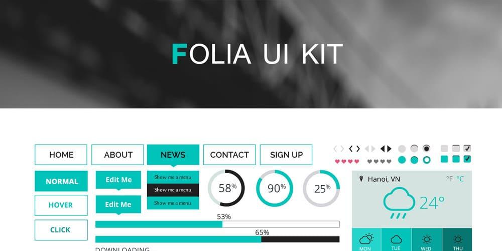 Folia UI Kit