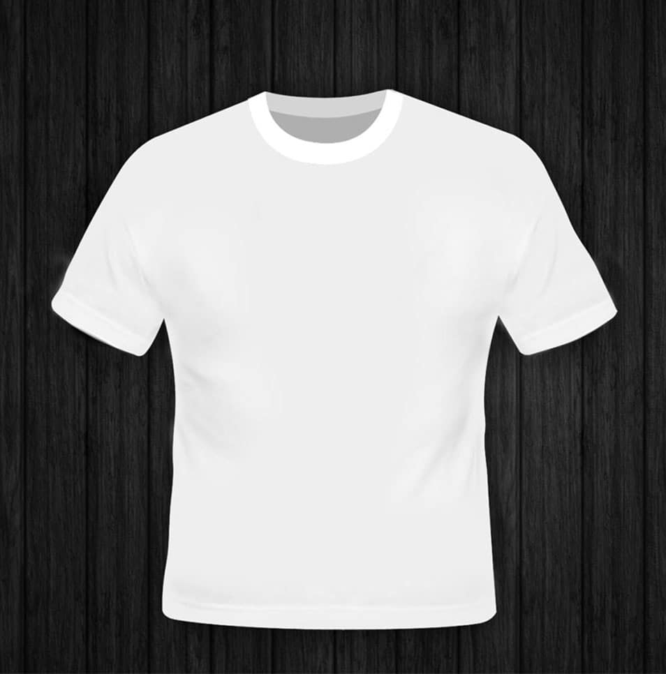 Free Blank T-Shirt Mockup Template PSD