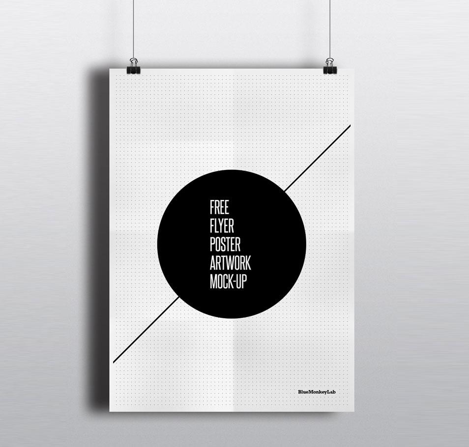 Free Flyer / Poster Mock-up
