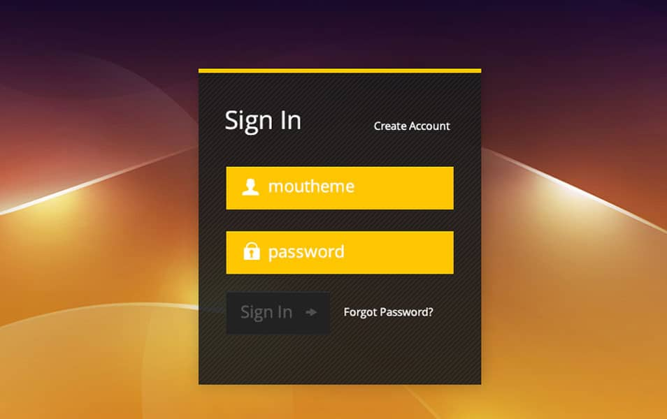 Free-Login-Form-PSD