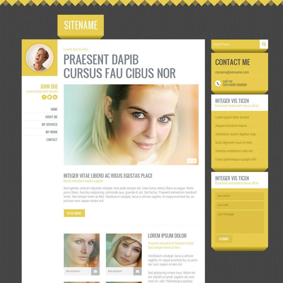 Free PSD Templates (3 pack)