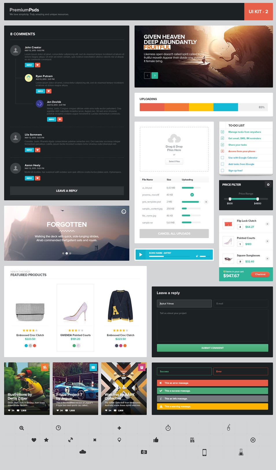 Freebie Psd UI Kit